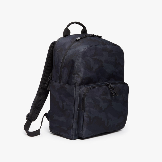 Side - Hanover Deluxe 2 - 600D Recycled Poly - Navy Camo - Backpack - Lo & Sons