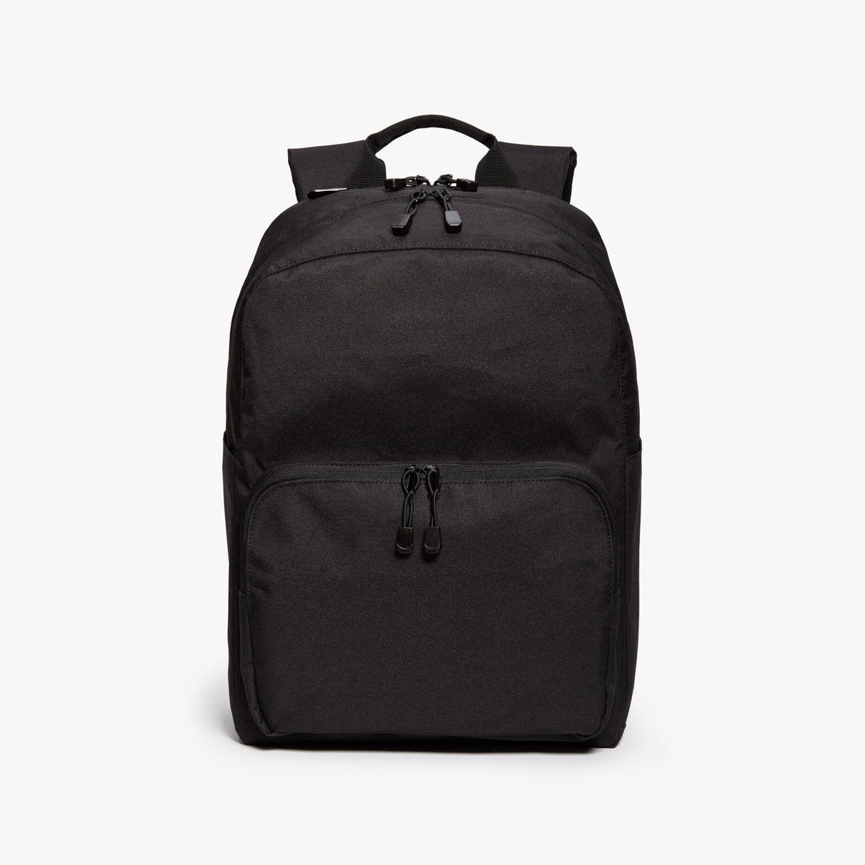 Front - Hanover Deluxe 2 - 600D Recycled Poly - Onyx - Backpack - Lo & Sons