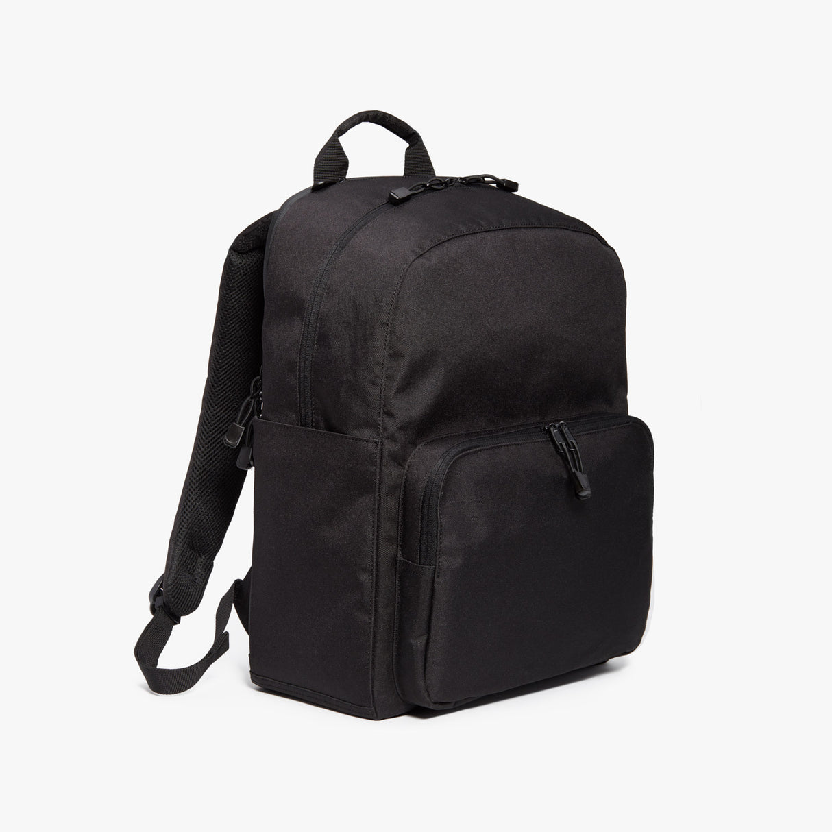Side - Hanover Deluxe 2 - 600D Recycled Poly - Onyx - Backpack - Lo & Sons
