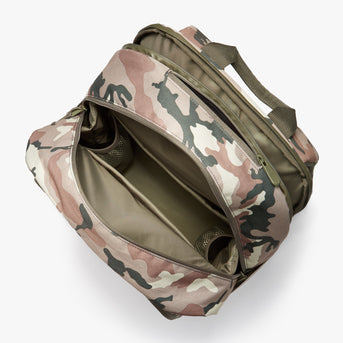 Interior Empty - Hanover Deluxe 2 - 600D Recycled Poly - Tan Camo - Backpack - Lo & Sons