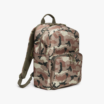 Side - Hanover Deluxe 2 - 600D Recycled Poly - Tan Camo - Backpack - Lo & Sons