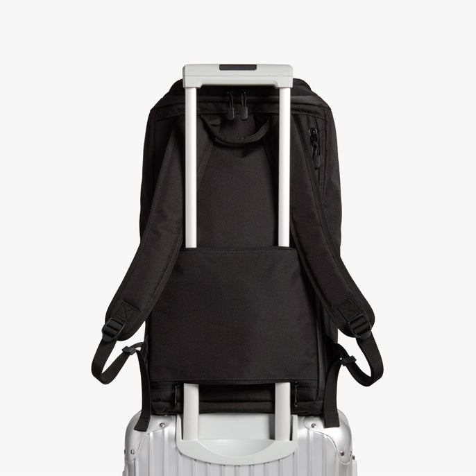 Luggage Sleeve - The Hakuba - 600D Recycled Poly - Onyx / Black / Grey Wave - Backpack - Lo & Sons