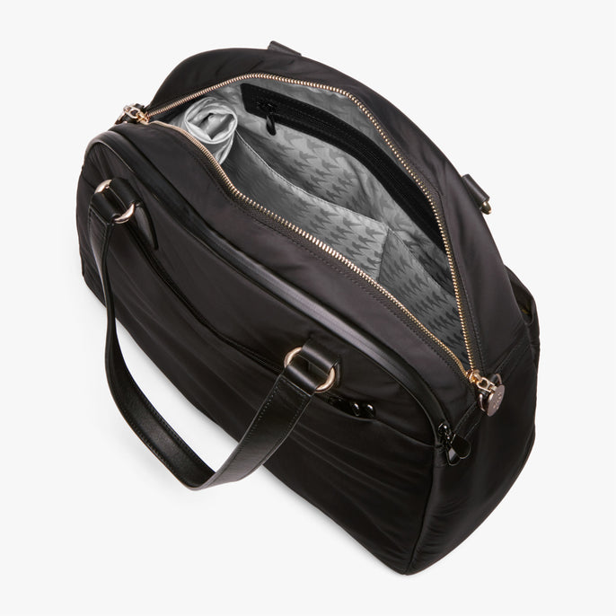 Interior Empty Side A - O.G. 2 - Nylon - Black / Gold / Grey - Shoulder Bag - Lo & Sons