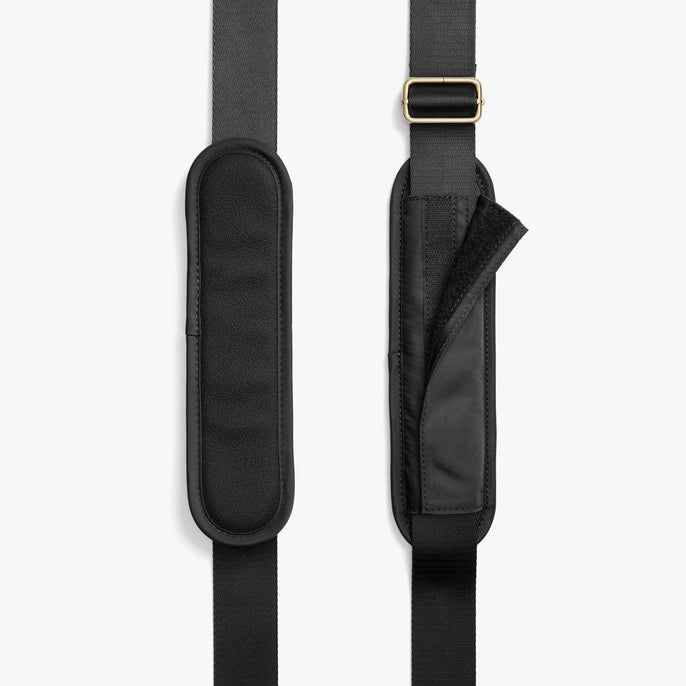 Strap Padding - O.G. 2 - Nylon - Black / Gold / Grey - Shoulder Bag - Lo & Sons