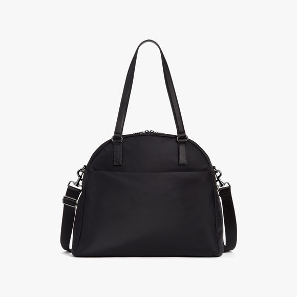 Front - O.G. 2 - Nylon - Black / Gunmetal / Grey - Shoulder Bag - Lo & Sons
