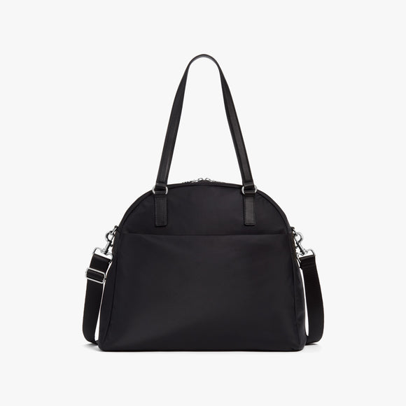 Front - O.G. 2 - Nylon - Black / Silver / Grey - Shoulder Bag - Lo & Sons