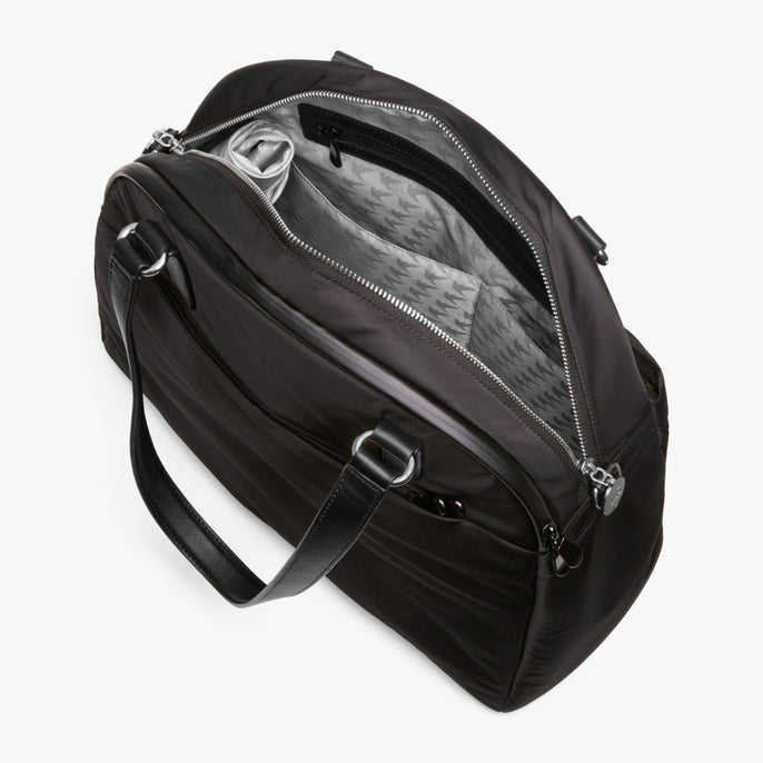 Interior Empty Side A - O.G. 2 - Nylon - Black / Silver / Grey - Shoulder Bag - Lo & Sons
