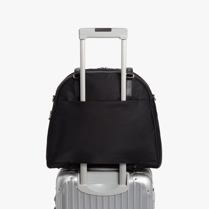 Luggage - O.G. 2 - Nylon - Black / Silver / Grey - Shoulder Bag - Lo & Sons