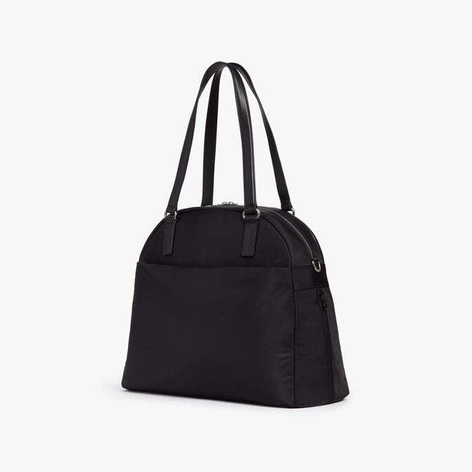 Side - O.G. 2 - Nylon - Black / Silver / Grey - Shoulder Bag - Lo & Sons
