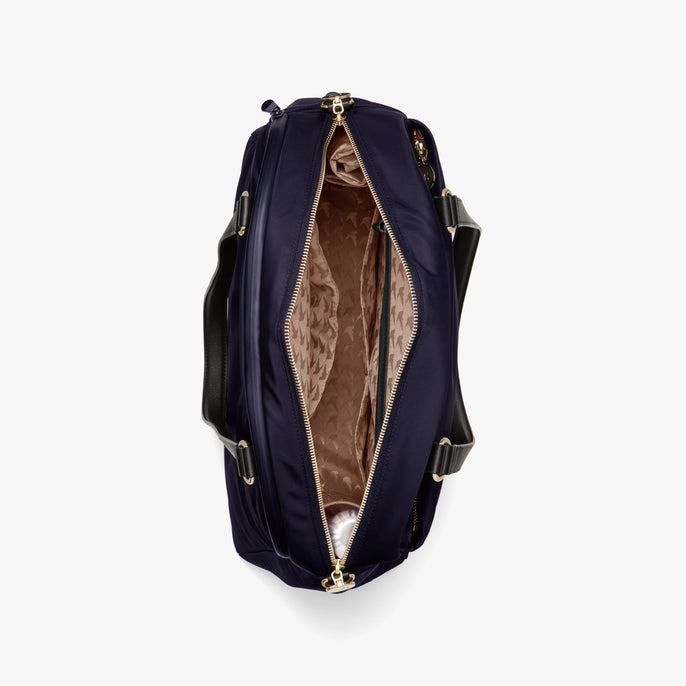 Interior Empty - O.G. 2 - Nylon - Deep Navy / Gold / Camel - Shoulder Bag - Lo & Sons