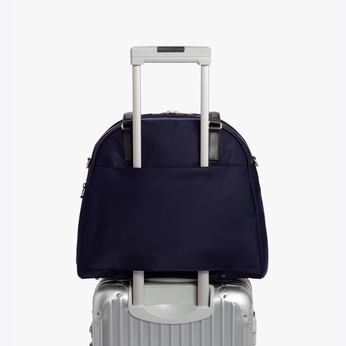 Luggage - O.G. 2 - Nylon - Deep Navy / Gold / Camel - Shoulder Bag - Lo & Sons
