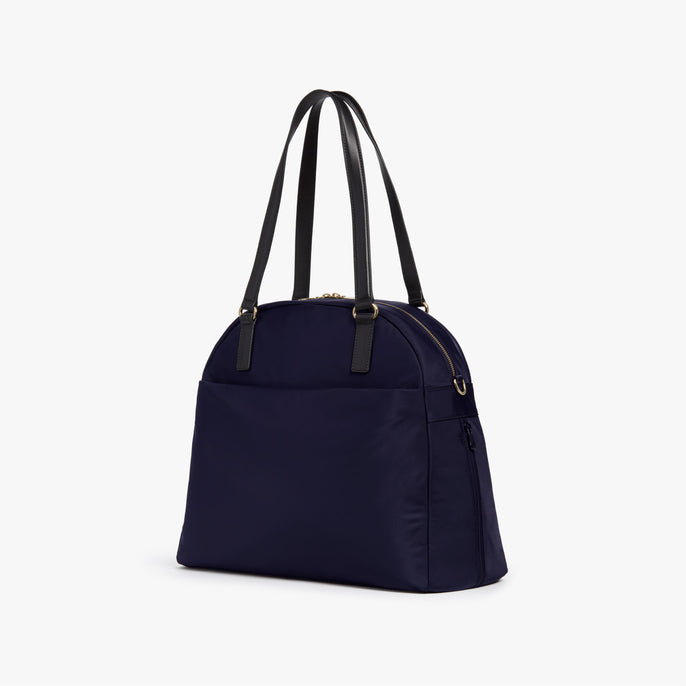 Side - O.G. 2 - Nylon - Deep Navy / Gold / Camel - Shoulder Bag - Lo & Sons