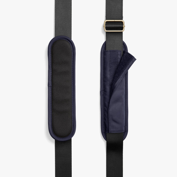 Strap Padding - O.G. 2 - Nylon - Deep Navy / Gold / Camel - Shoulder Bag - Lo & Sons