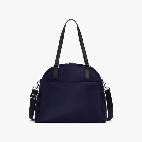 Front - O.G. 2 - Nylon - Deep Navy / Silver / Azure - Shoulder Bag - Lo & Sons
