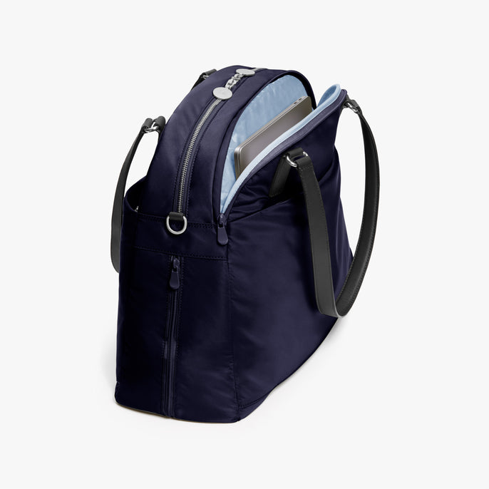 Laptop - O.G. 2 - Nylon - Deep Navy / Silver / Azure - Shoulder Bag - Lo & Sons
