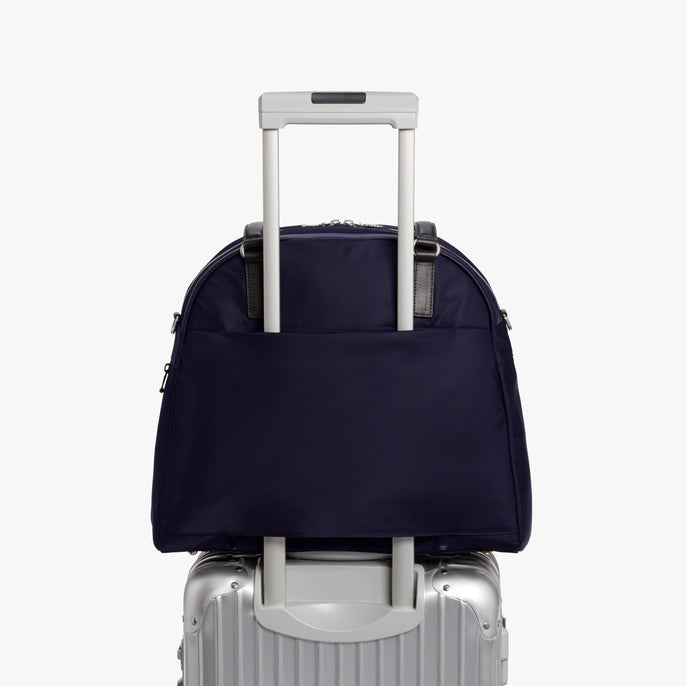 Luggage - O.G. 2 - Nylon - Deep Navy / Silver / Azure - Shoulder Bag - Lo & Sons