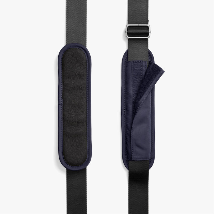 Strap Padding - O.G. 2 - Nylon - Deep Navy / Silver / Azure - Shoulder Bag - Lo & Sons