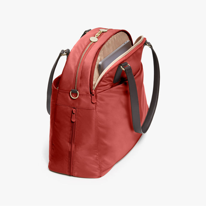 Laptop - O.G. 2 - Nylon - Santa Fe Red / Gold / Camel - Shoulder Bag - Lo & Sons