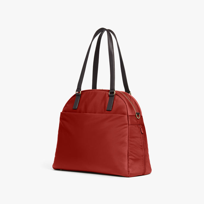 Side - O.G. 2 - Nylon - Santa Fe Red / Gold / Camel - Shoulder Bag - Lo & Sons