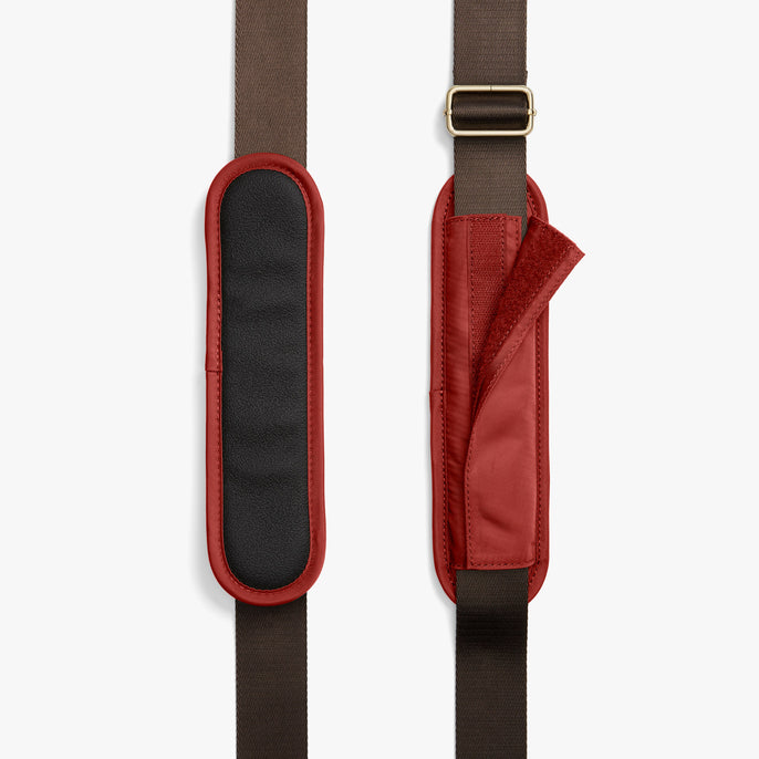 Strap Padding - O.G. 2 - Nylon - Santa Fe Red / Gold / Camel - Shoulder Bag - Lo & Sons