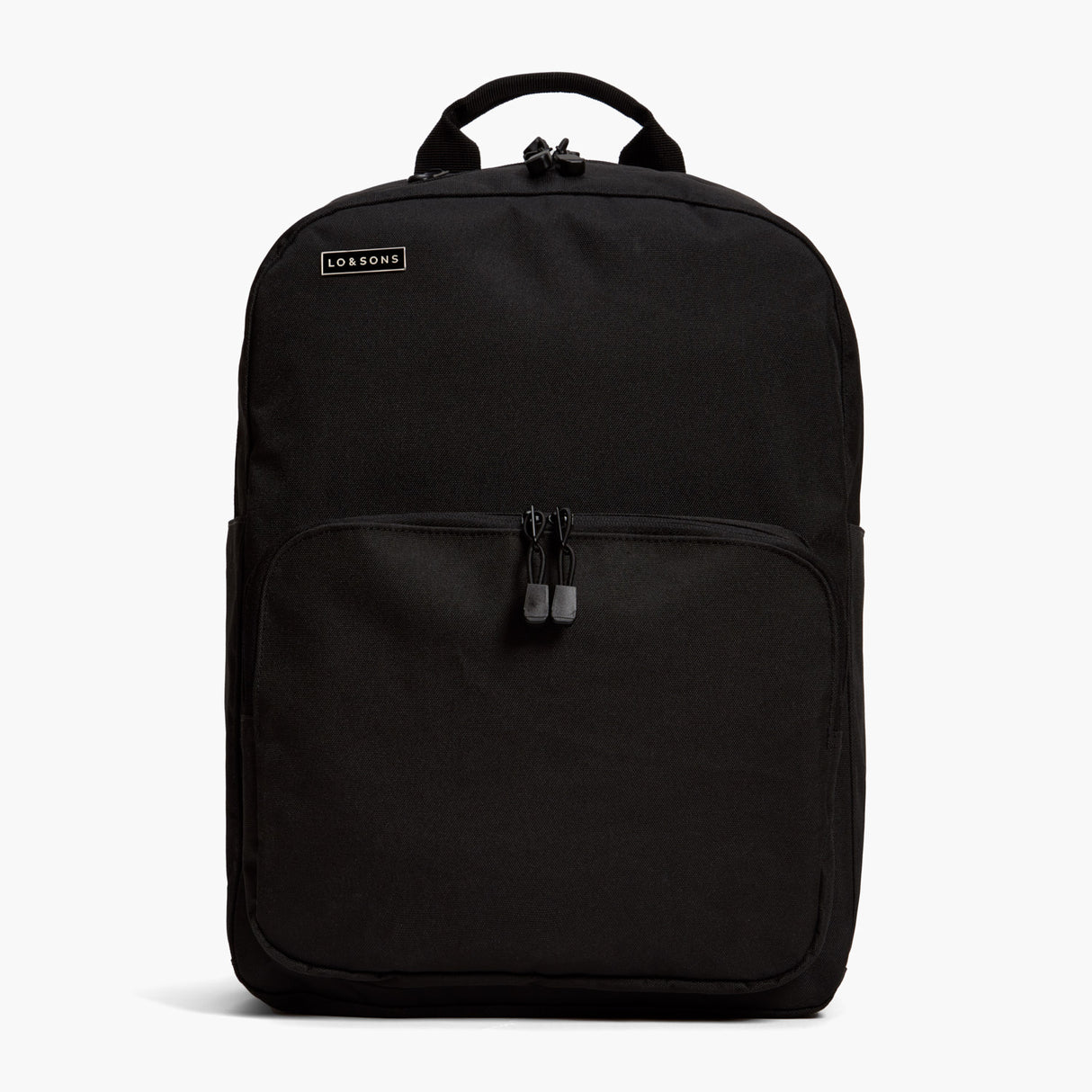 On Backpack - The Pin LS Wordmark - Metal - Black - Small Accessory - Lo & Sons