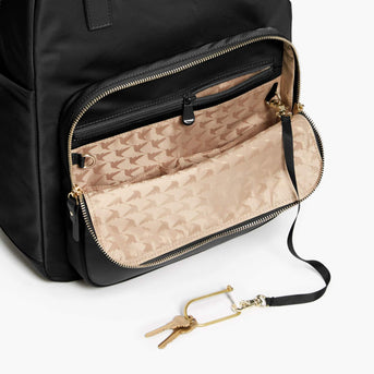 Key Leash - Rowledge - Nylon - Black / Gold / Camel - Backpack - Lo & Sons