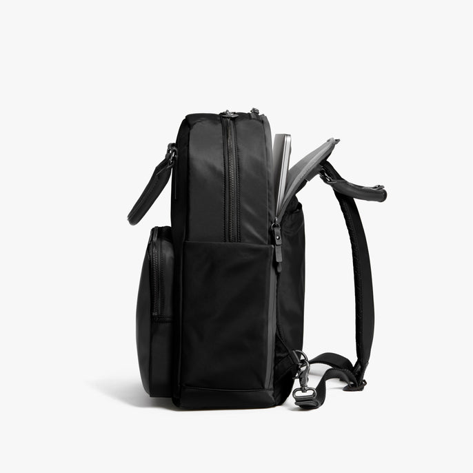 Laptop - Rowledge - Nylon - Black / Gunmetal / Grey - Backpack - Lo & Sons