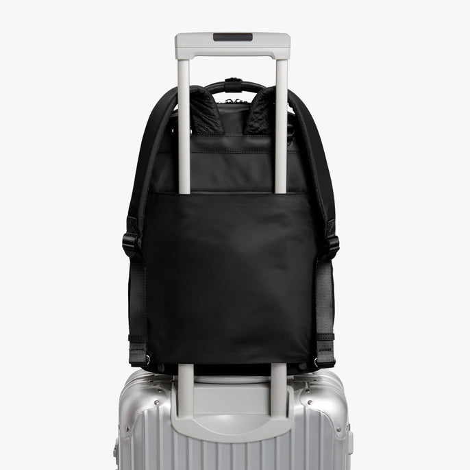 Luggage - Rowledge - Nylon - Black / Gunmetal / Grey - Backpack - Lo & Sons