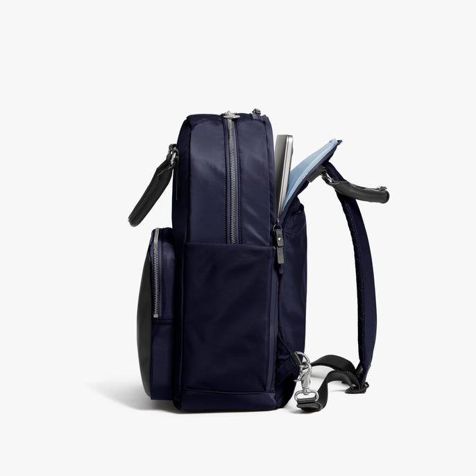 Laptop - Rowledge - Nylon - Deep Navy / Silver / Azure - Backpack - Lo & Sons