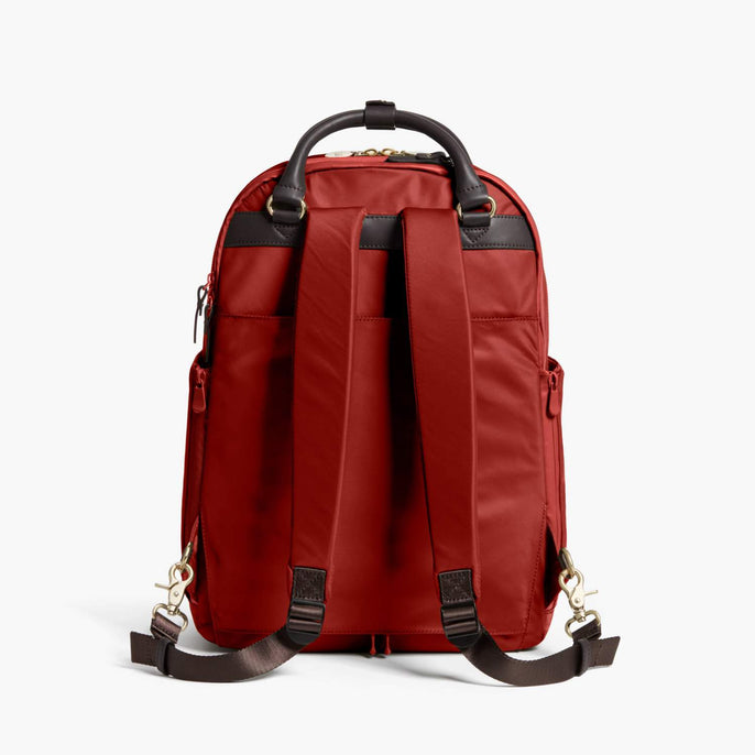 Back - Rowledge - Nylon - Santa Fe Red / Gold / Camel - Backpack - Lo & Sons