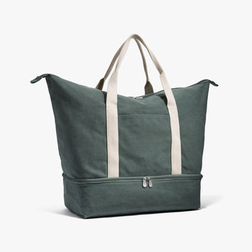 Side - The Catalina - Washed Canvas - Forest Green - Weekender - Lo & Sons