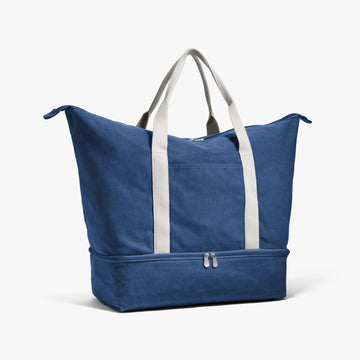 Side - The Catalina - Washed Canvas - Indigo - Weekender - Lo & Sons