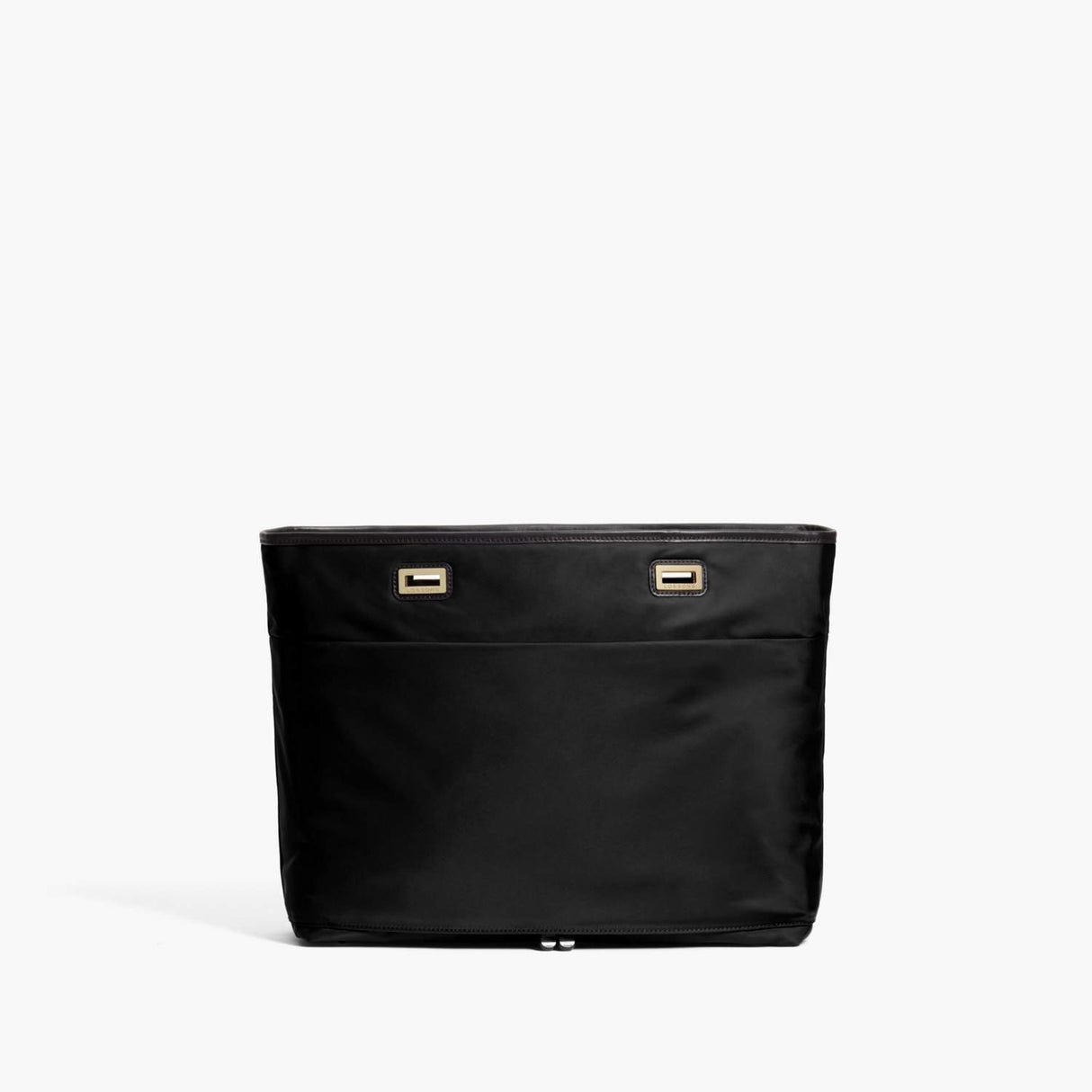 Back - The Seville Aire Shell - Nylon - Black / Gold / Black - Tote - Lo & Sons