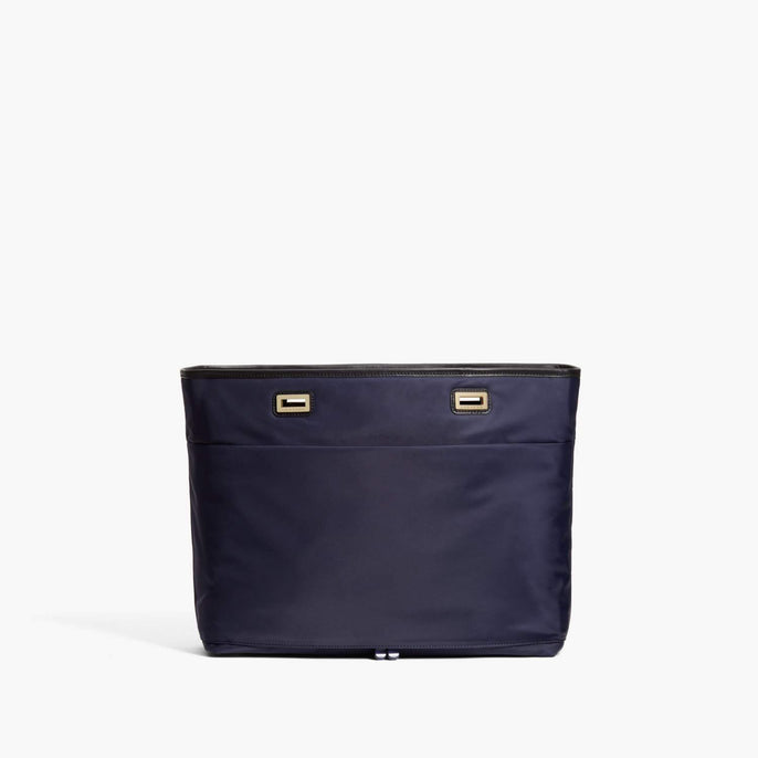 Back - The Seville Aire Shell - Nylon - Deep Navy / Gold / Black - Tote - Lo & Sons