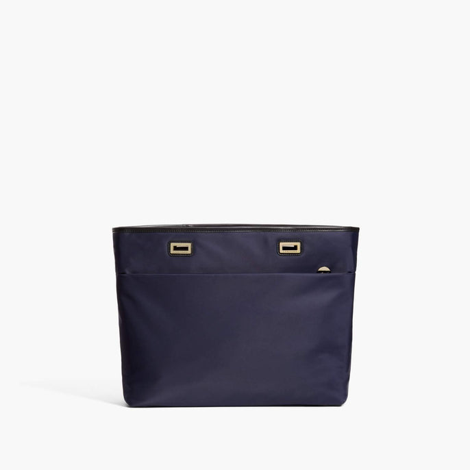 Front - The Seville Aire Shell - Nylon - Deep Navy / Gold / Black - Tote - Lo & Sons