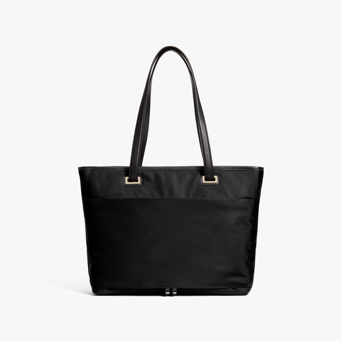 Back - The Seville Aire Tote - Nylon - Black / Gold / Grey - Tote - Lo & Sons