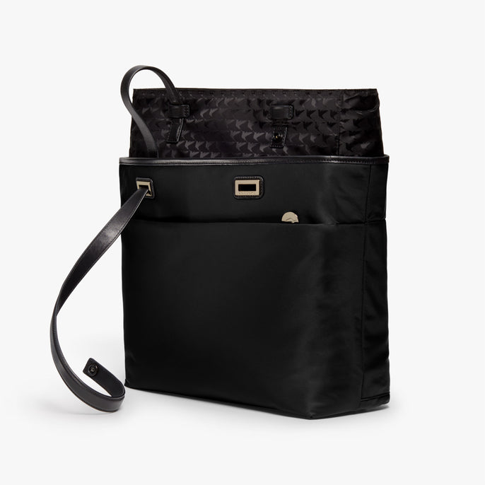 Removable Insert - The Seville Aire Tote - Nylon - Black / Gold / Grey - Tote - Lo & Sons