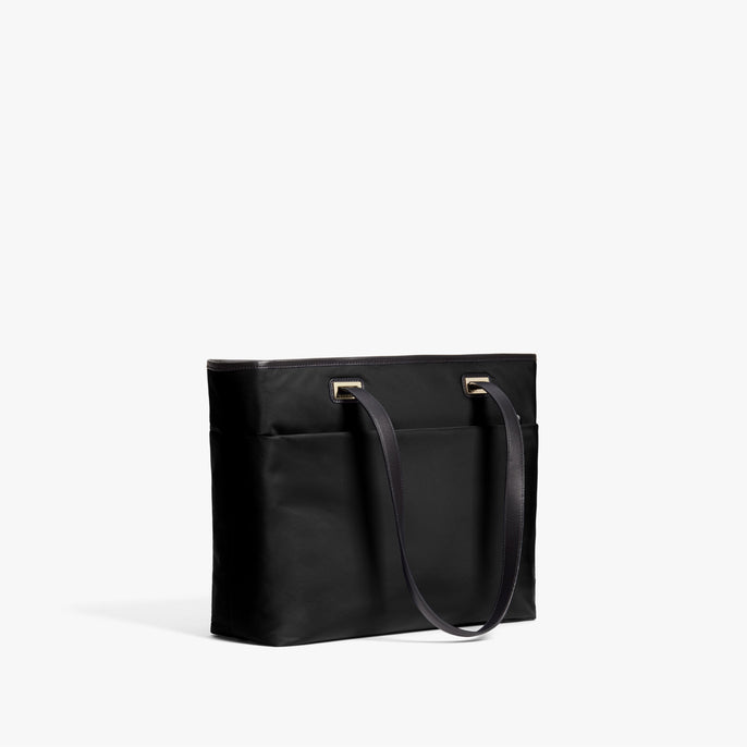 Alternate Side - The Seville Aire Tote - Nylon - Black / Gold / Grey - Tote - Lo & Sons