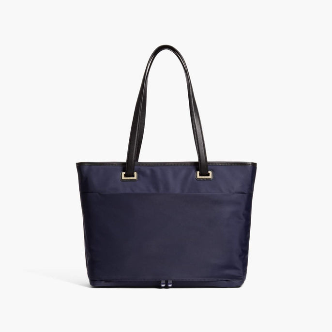 Back - The Seville Aire Tote - Nylon - Deep Navy / Gold / Grey - Tote - Lo & Sons