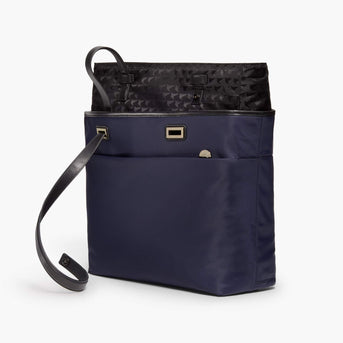 Removable Insert - The Seville Aire Tote - Nylon - Deep Navy / Gold / Grey - Tote - Lo & Sons