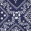 Navy Square Pattern swatch for The 4 Layer Bandana Mask