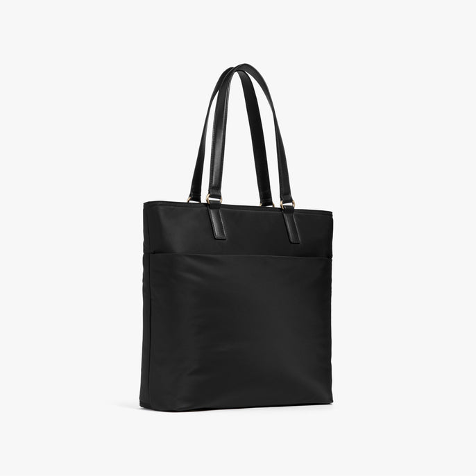 Side - T.T. - Nylon - Black / Gold / Lavender - Tote - Lo & Sons