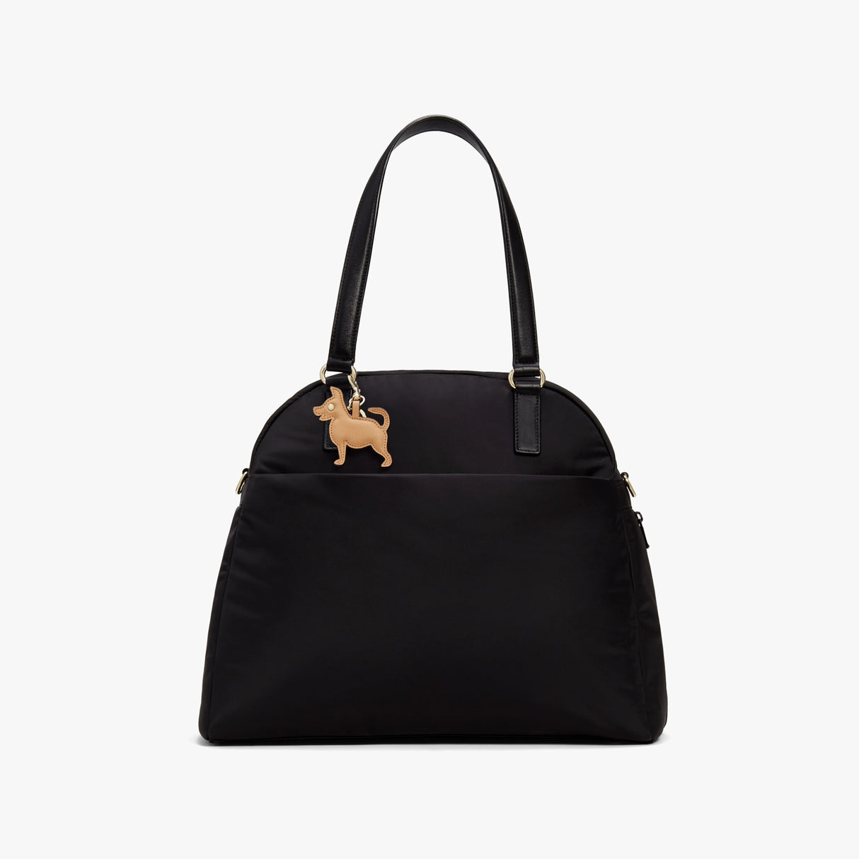 On Bag - Year of the Dog Charm - Saffiano Leather - Sand - Small Accessory - Lo & Sons