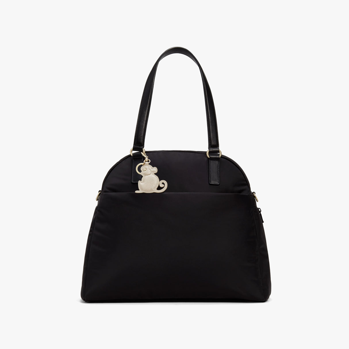 On Bag - Year of the Monkey Charm - Saffiano Leather - Champagne - Small Accessory - Lo & Sons
