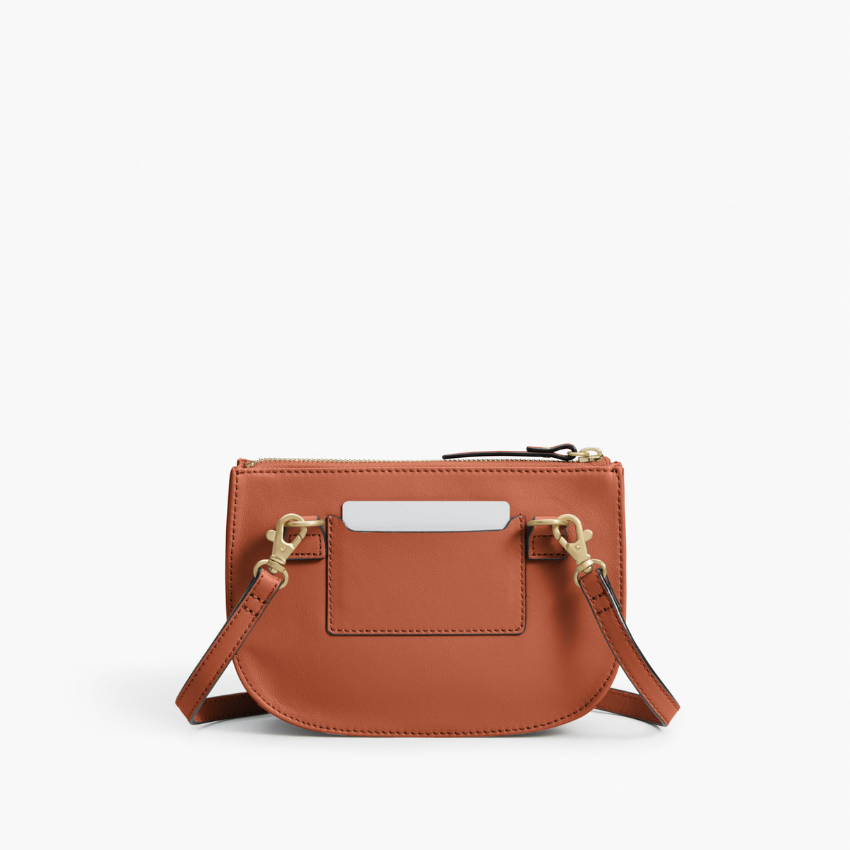 Back - The Waverley 2 - Nappa Leather - Sienna / Gold / Camel - Crossbody - Lo & Sons