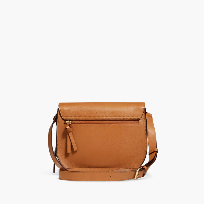 Back - The Claremont - Full Grain Leather - Sienna - Crossbody - Lo & Sons