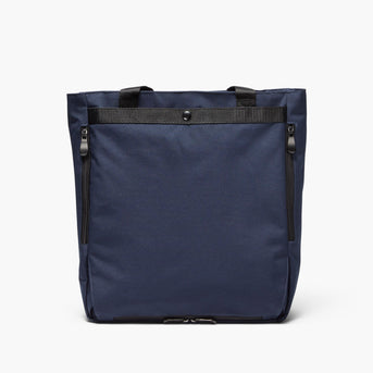 Backview Hidden - Edgemont - 600D Recycled Poly - Navy - Backpack - Lo & Sons