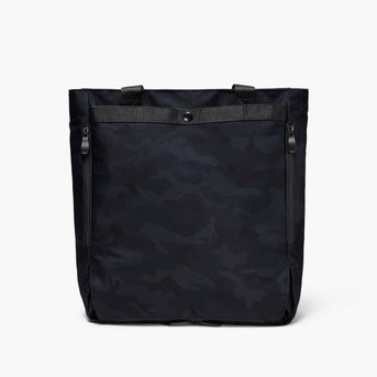 Backview Hidden - Edgemont - 600D Recycled Poly - Navy Camo - Backpack - Lo & Sons