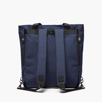 Backview Straps - Edgemont - 600D Recycled Poly - Navy - Backpack - Lo & Sons