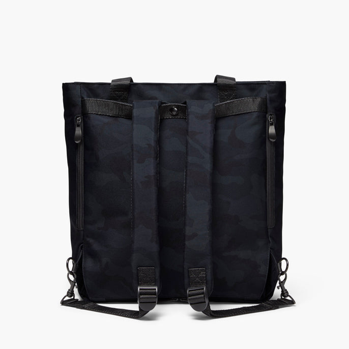 Backview Straps - Edgemont - 600D Recycled Poly - Navy Camo - Backpack - Lo & Sons